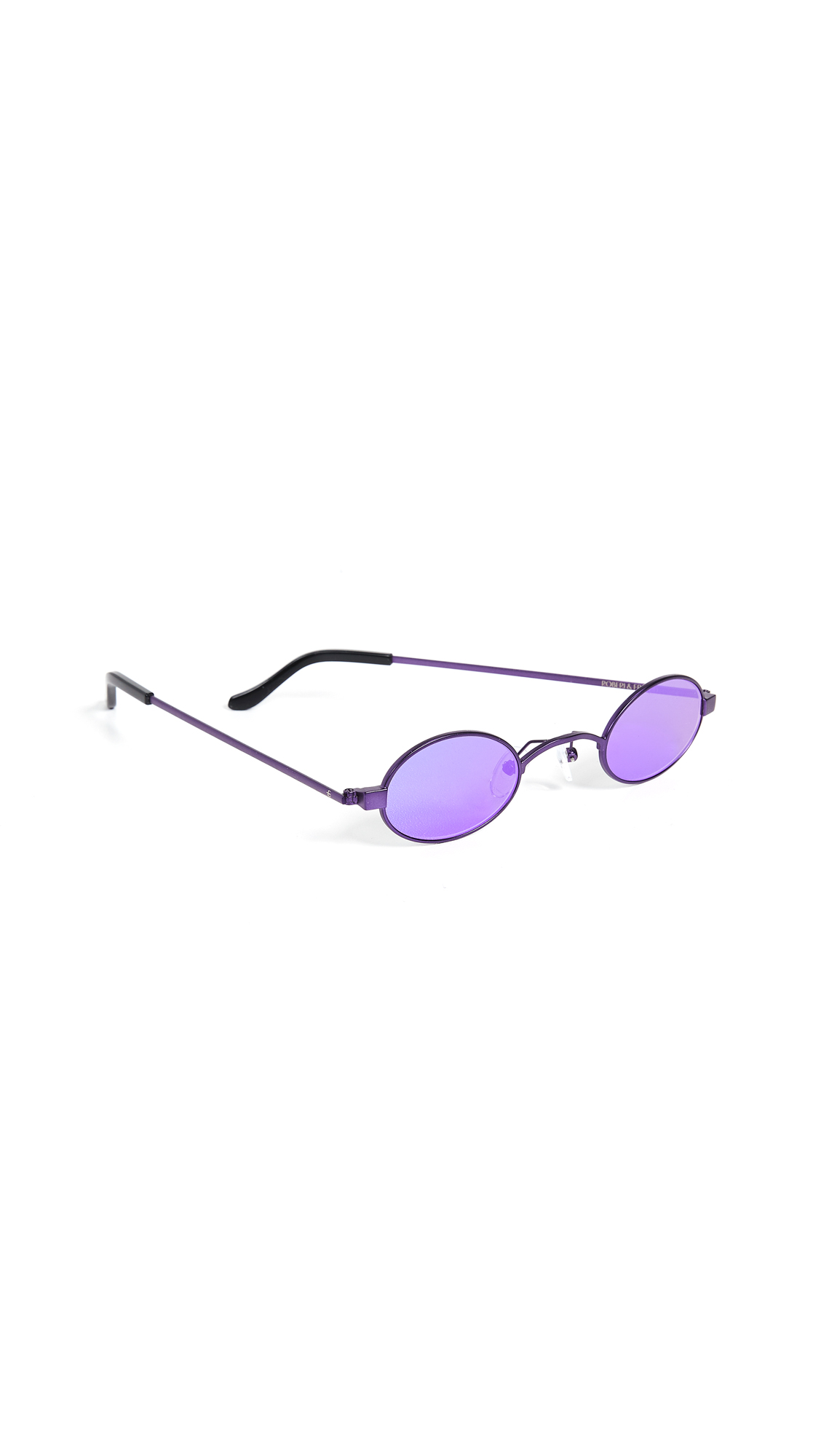 ROBERI & FRAUD Doris Sunglasses in Purple