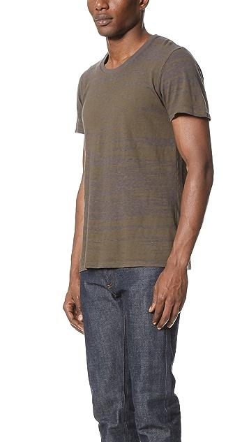 Robert Geller The Water Reflection T Shirt