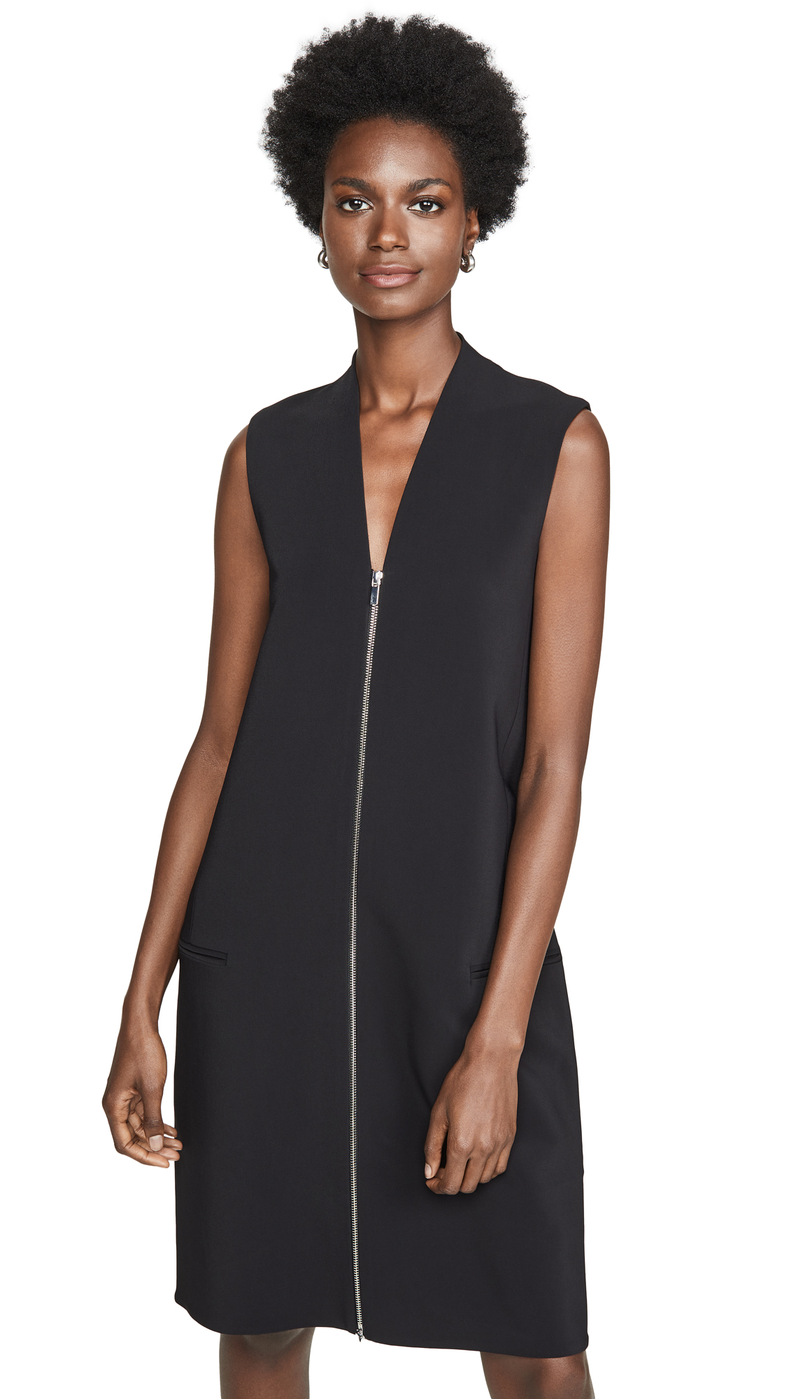 Rosetta Getty Zipper Front Shift Dress - 60% Off Sale