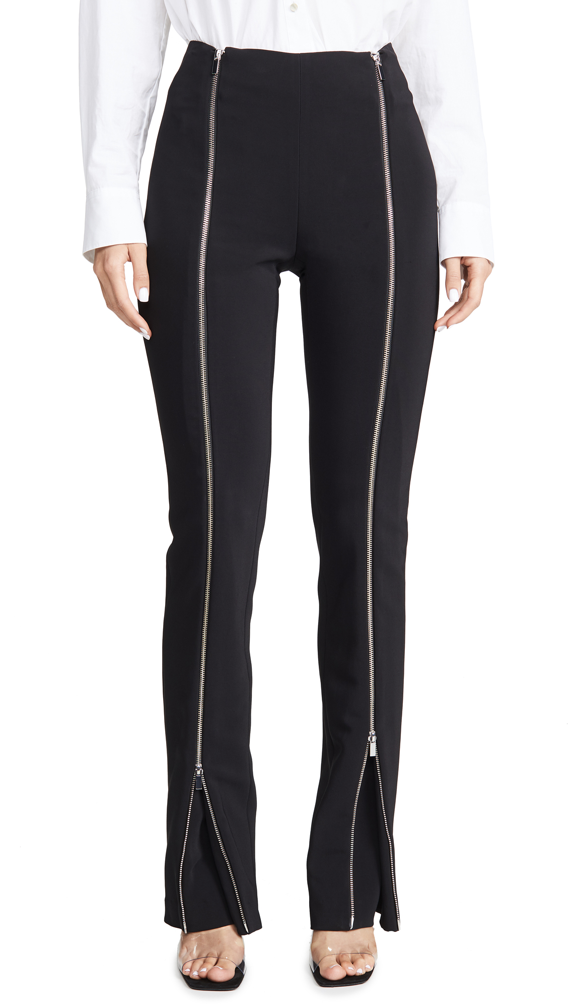 Buy Rosetta Getty online - photo of Rosetta Getty Zipper Godet Pants