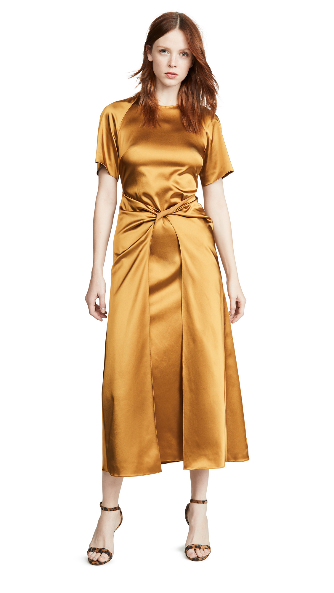 Buy Rosetta Getty online - photo of Rosetta Getty Twist Front Dress