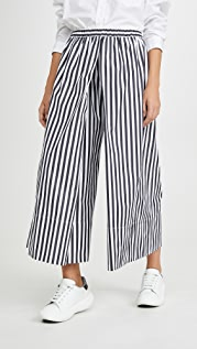 Rosetta Getty Pleated Culottes