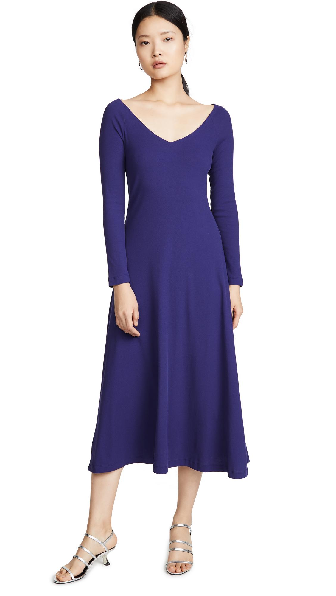 Buy Rosetta Getty online - photo of Rosetta Getty Open V Neck Dress