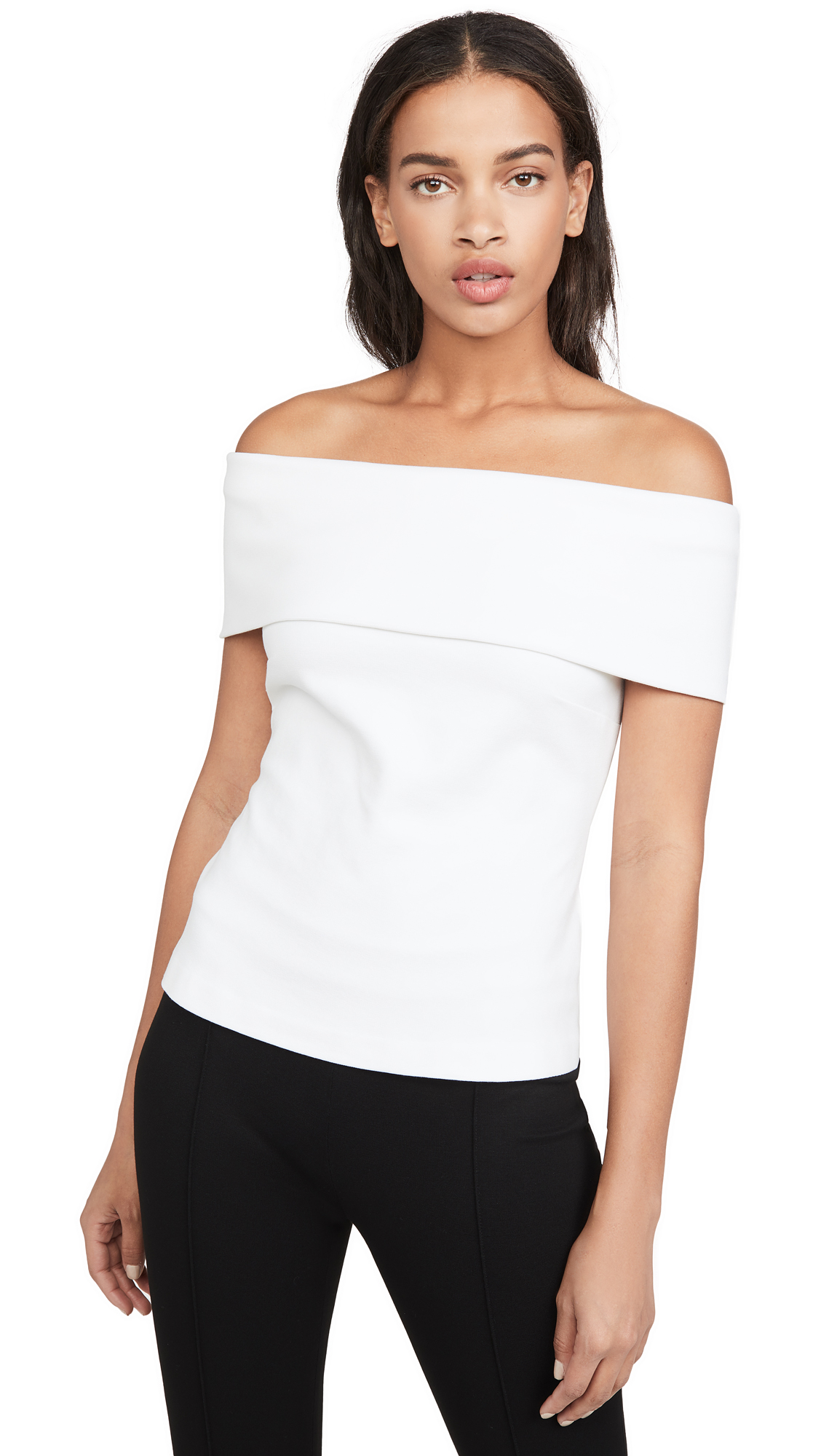 Buy Rosetta Getty online - photo of Rosetta Getty Banded Off Shoulder Top