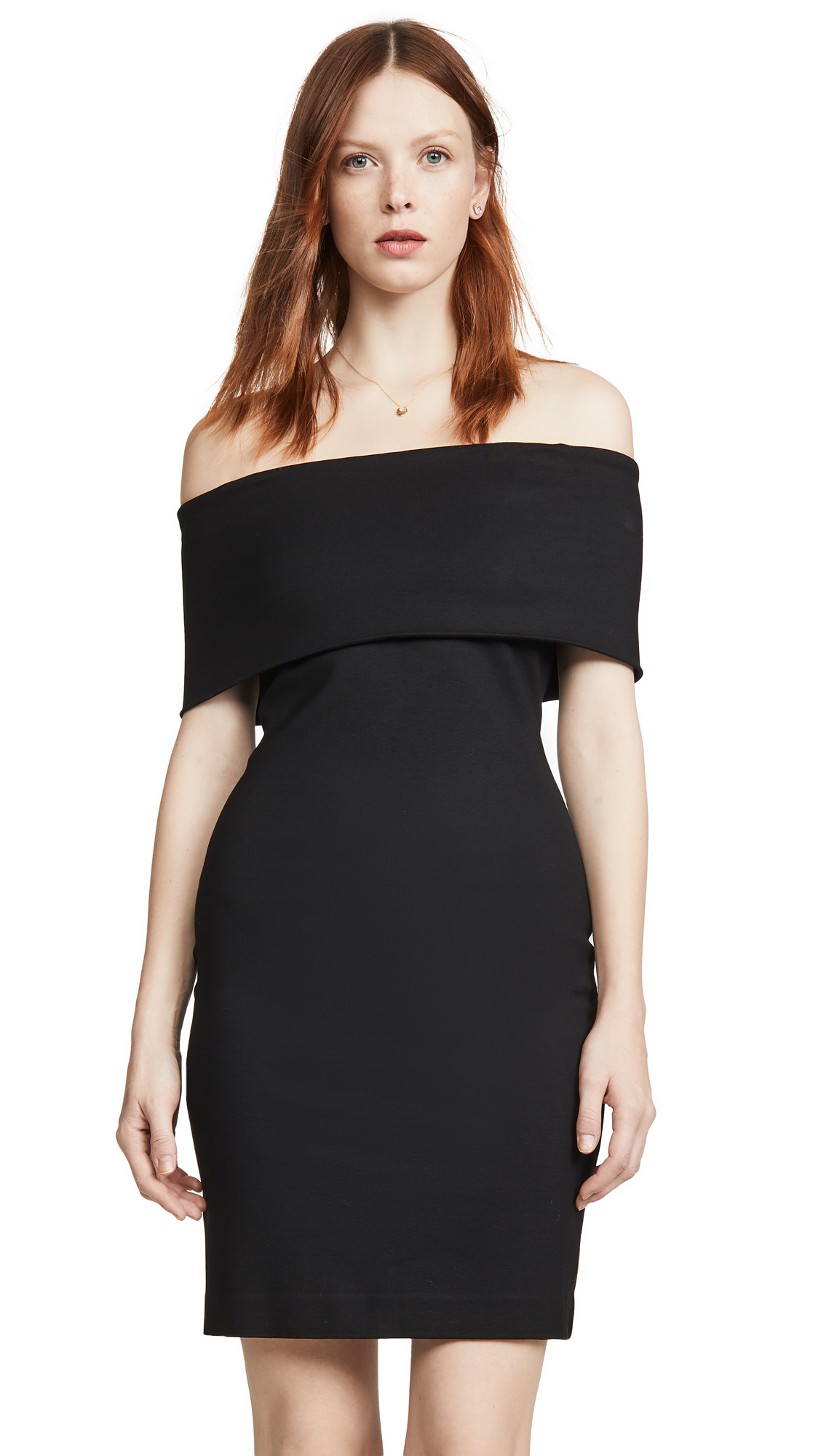 Buy Rosetta Getty online - photo of Rosetta Getty Banded Off the Shoulder Dress