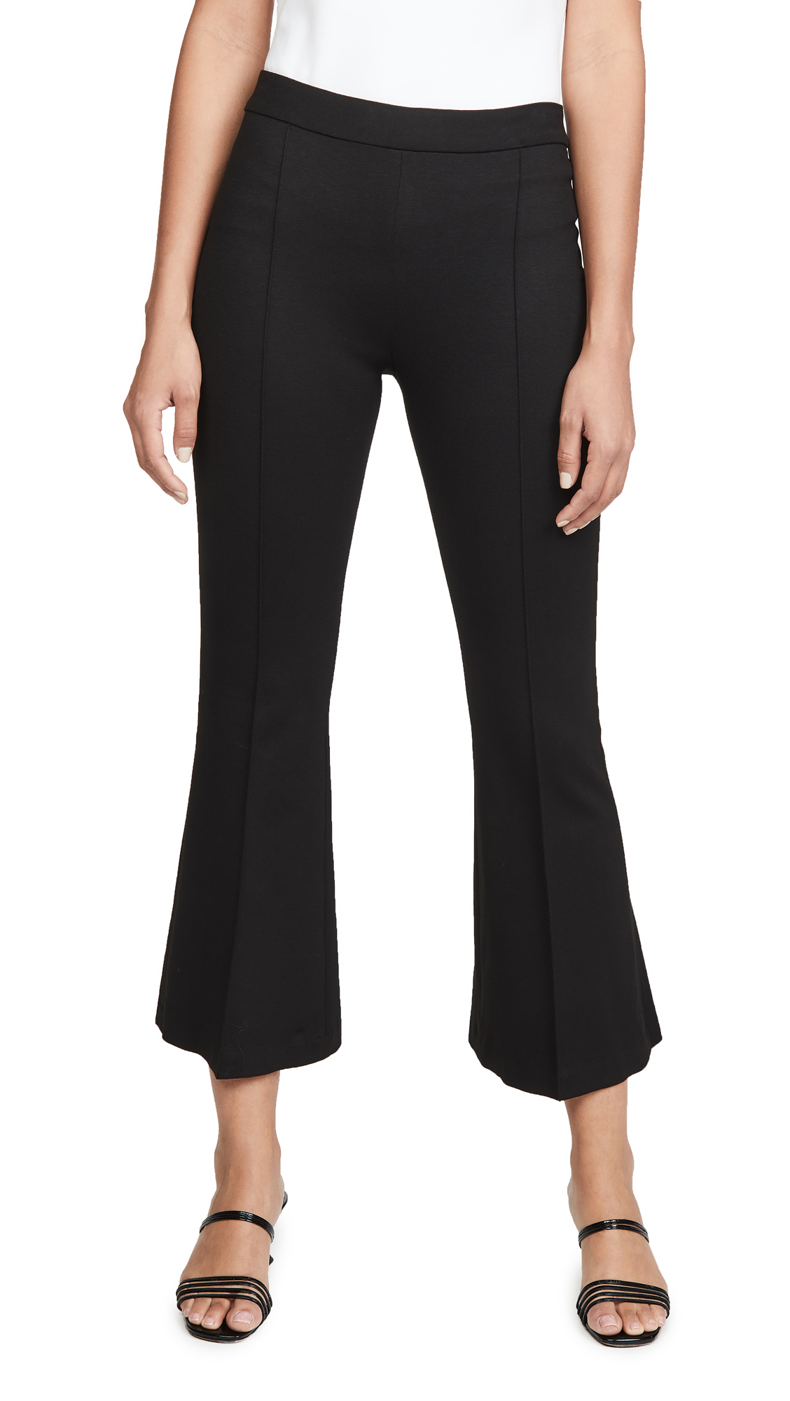 Buy Rosetta Getty online - photo of Rosetta Getty Pull On Cropped Flare Pants