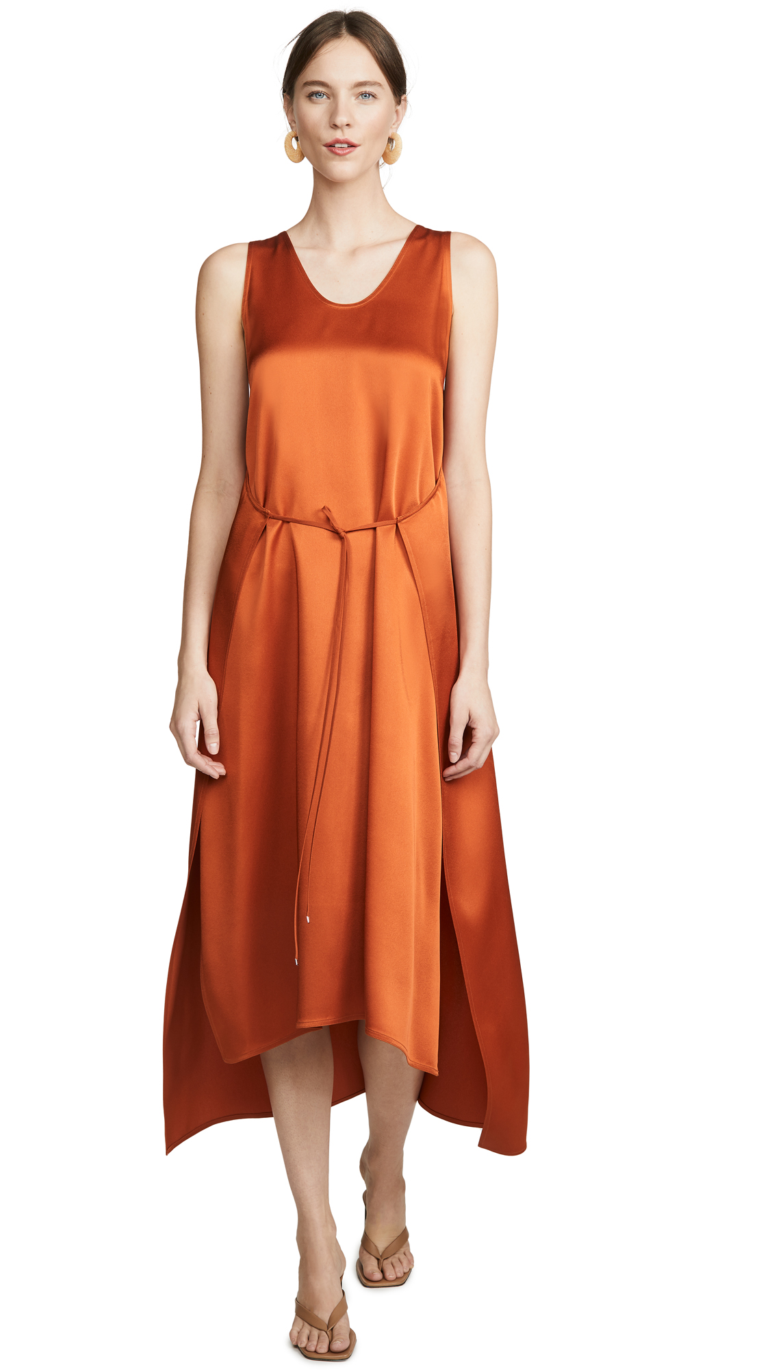 Rosetta Getty Apron Wrap Tank Dress - 50% Off Sale