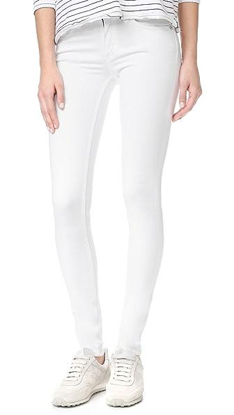 Rag & Bone/JEAN The Skinny Jeans - Bright White