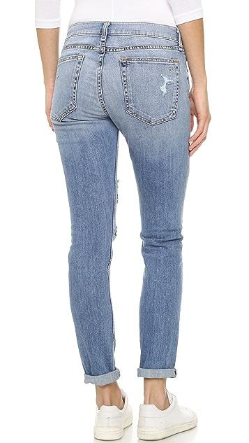 Rag & Bone/JEAN Slim Fit Boyfriend Jeans