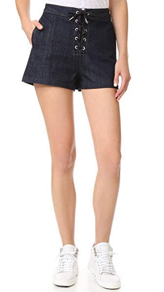 Rag & Bone/JEAN Lace Up Shorts