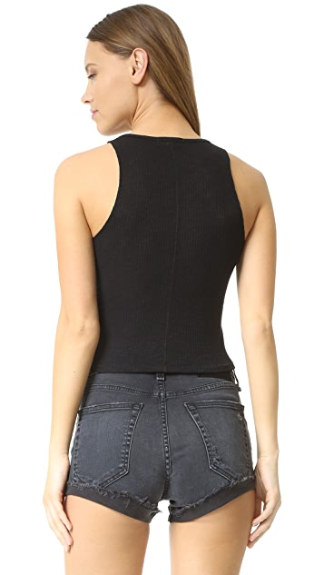 Rag & Bone/JEAN Highland Crop Top