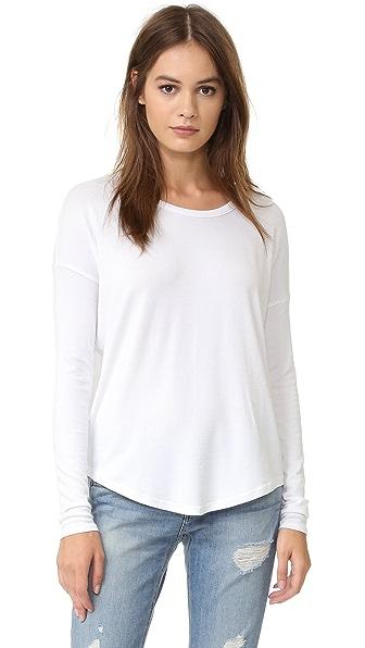 Rag & Bone/JEAN Hudson Pullover In White