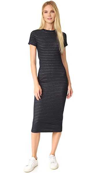Rag & Bone/JEAN Keaton Dress - Navy/Grey