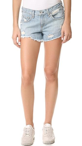 Rag & Bone/JEAN Boyfriend Shorts - Avenida