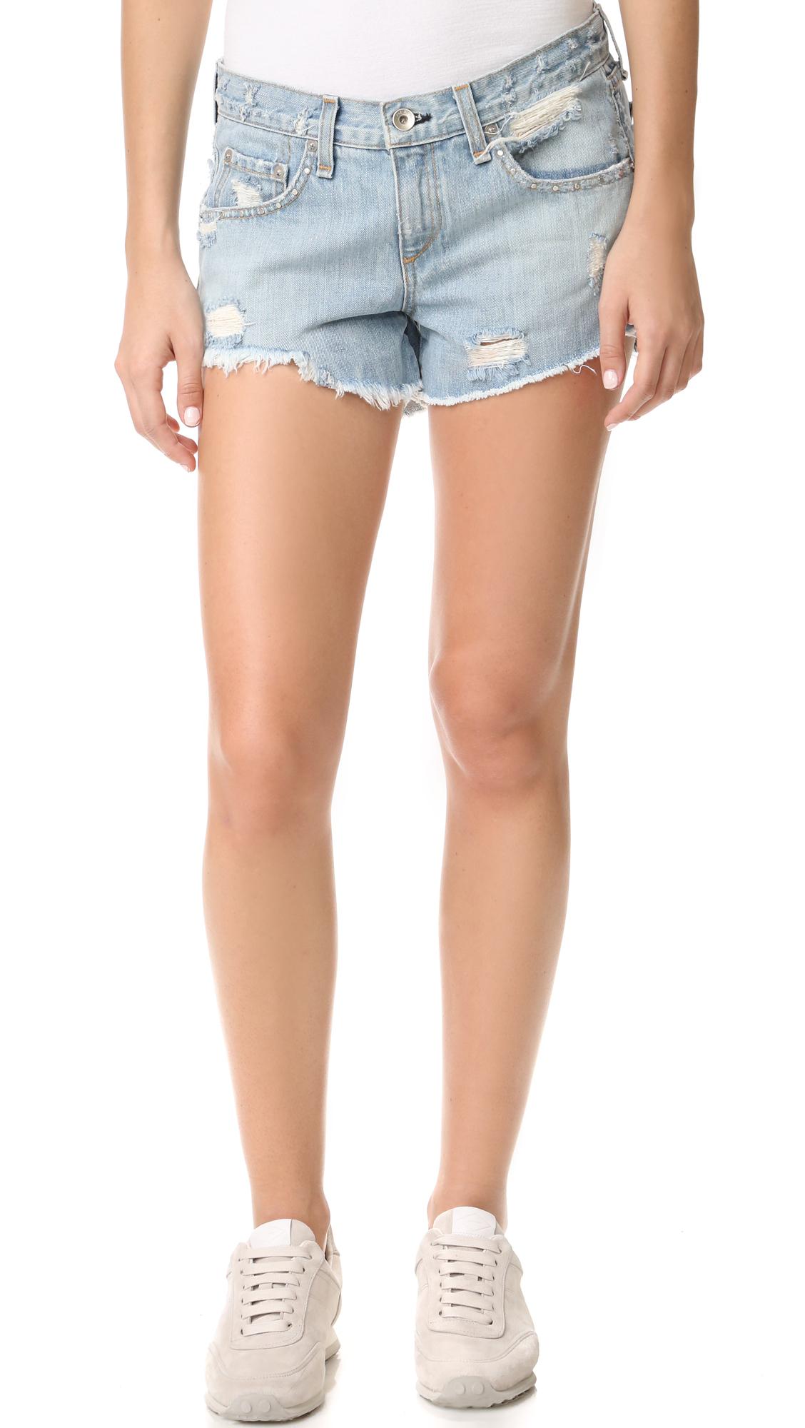 rag bonejean female rag bonejean boyfriend shorts avenida