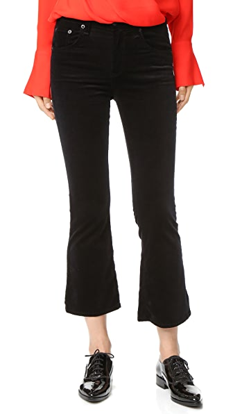 Rag & Bone/JEAN Velvet Cropped Flare Jeans | 15% off first app ...