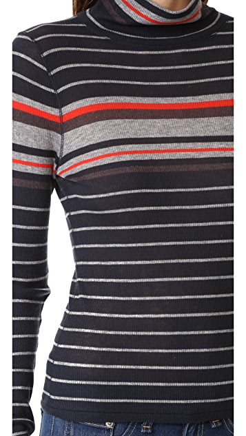 Rag & Bone/JEAN Fine Wool Rib Pullover