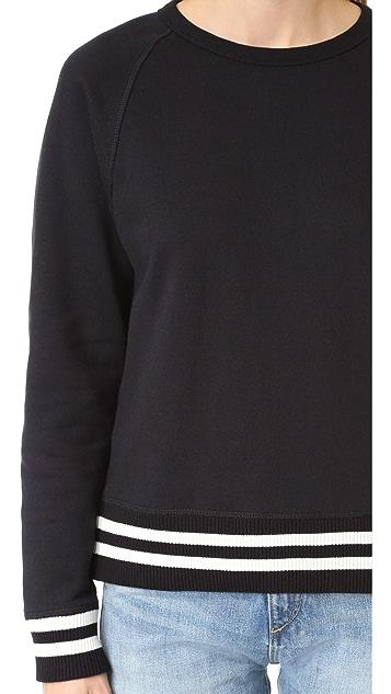 Rag & Bone/JEAN Classic Varsity Pullover