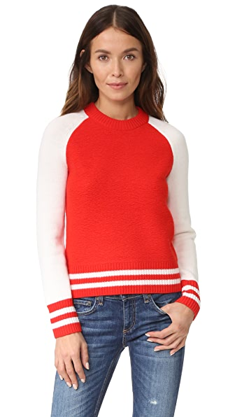 Rag & Bone/JEAN Jana Pullover - Fiery Red