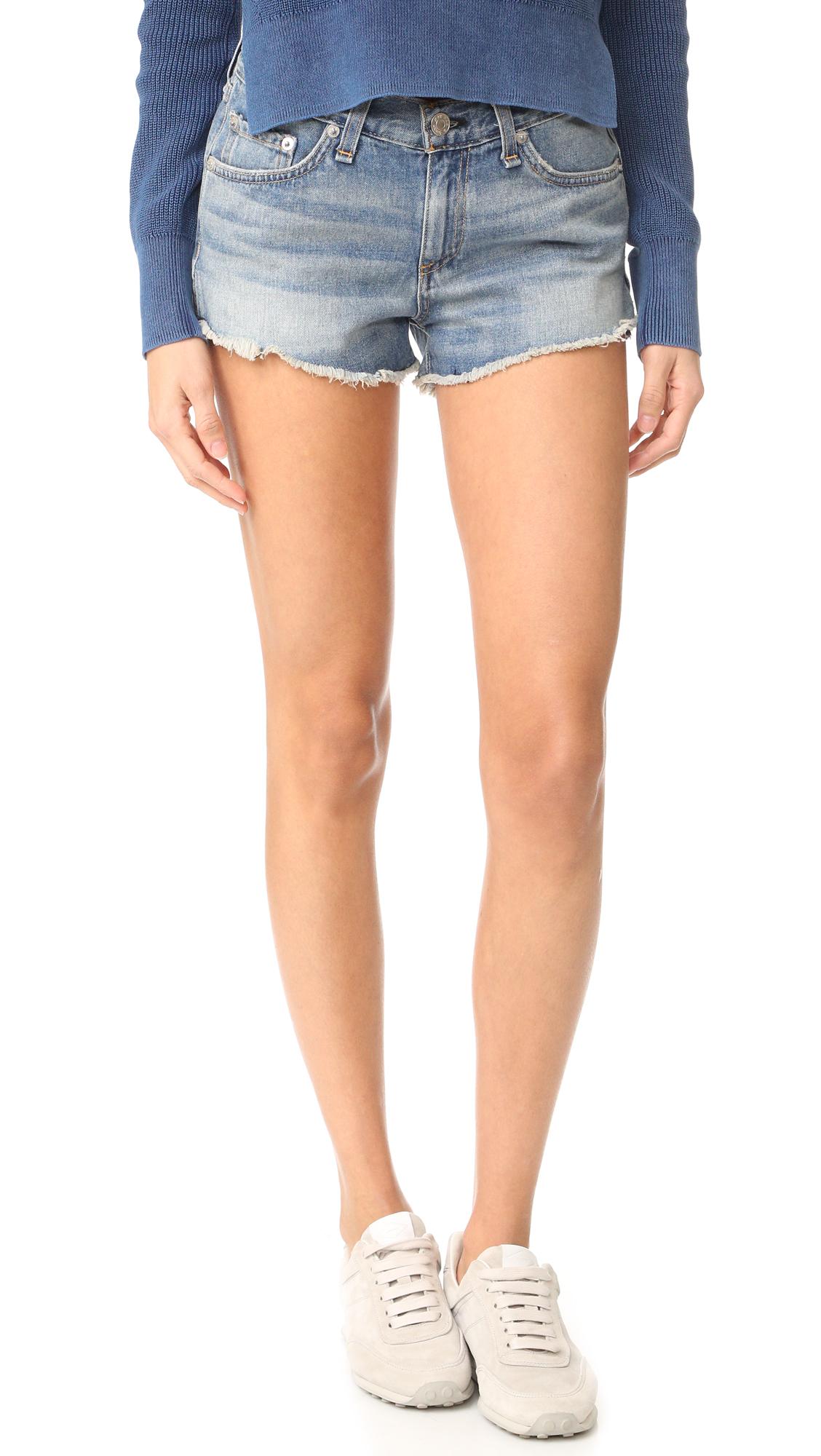 rag bonejean female rag bonejean cutoff shorts la quinta
