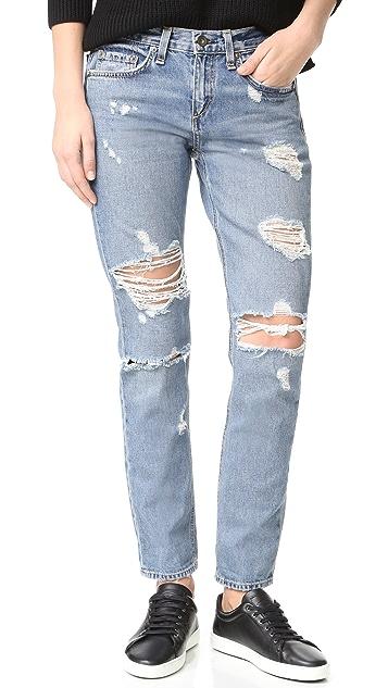 Rag & Bone/JEAN Boyfriend Jeans