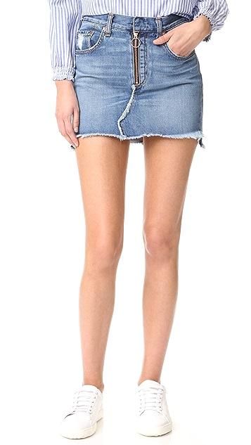 Rag & Bone/JEAN O Ring Skirt