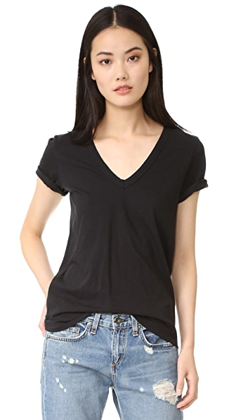 Rag & Bone/JEAN The Vee Tee - Black