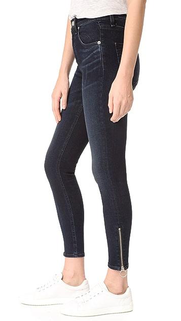 Rag & Bone/JEAN O Ring Dive Capri Jeans
