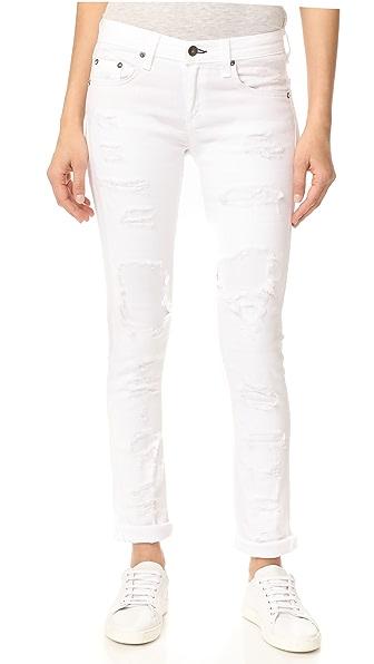 Rag & Bone/JEAN Dre Jeans - White Brigade