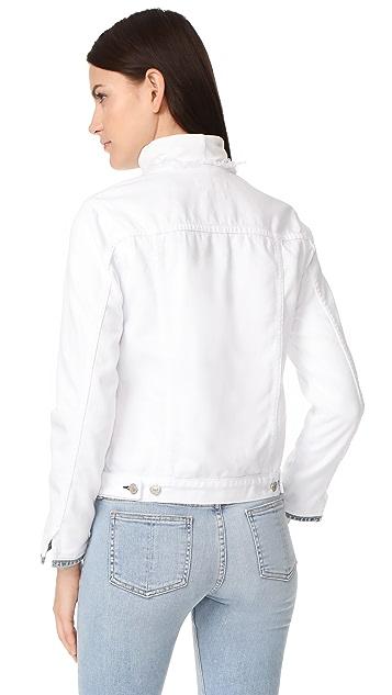 Rag & Bone/JEAN Collarless Denim Jacket