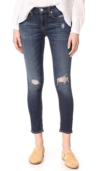 Rag & Bone/JEAN Capri Jeans In Collette