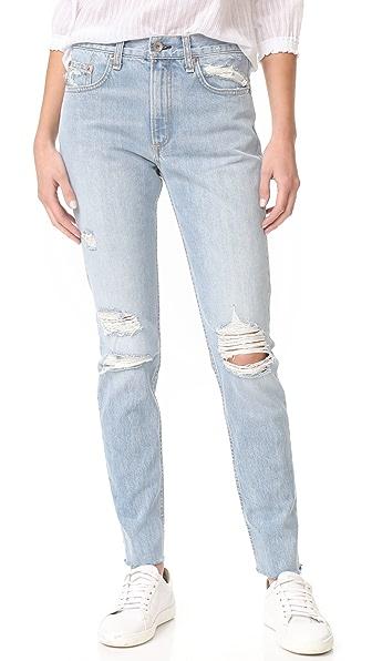Rag & Bone/JEAN Marilyn Jeans - Union Pool