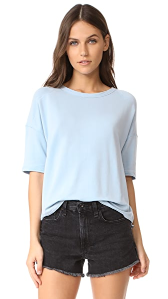 Rag & Bone/JEAN Phoenix Tee In Sky Blue