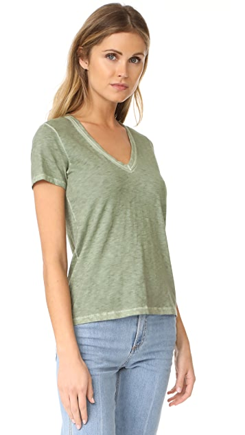 Rag & Bone/JEAN Sublime Wash V Neck Tee