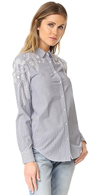 Rag & Bone/JEAN Stripe Sahara Shirt