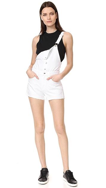 Rag & Bone/JEAN Lou Overall Shorts