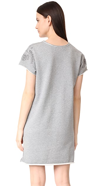 Rag & Bone/JEAN Eyelet Tee Dress