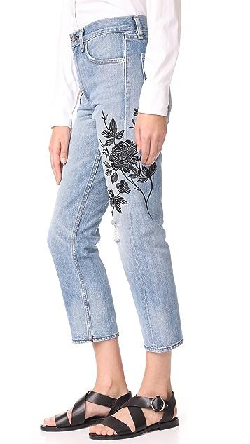Rag & Bone/JEAN Marilyn Crop Jeans