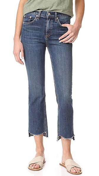 Rag & Bone/JEAN 10 inch Stovepipe Jeans - Ryan