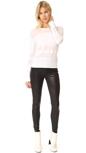 Rag & Bone/JEAN High Rise Skinny Leather Pants