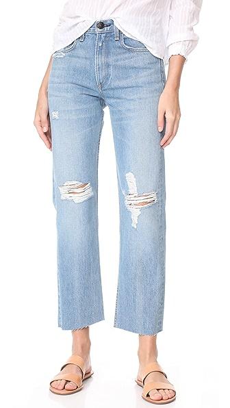 Rag & Bone/JEAN Rigid Straight Leg Jeans at Shopbop