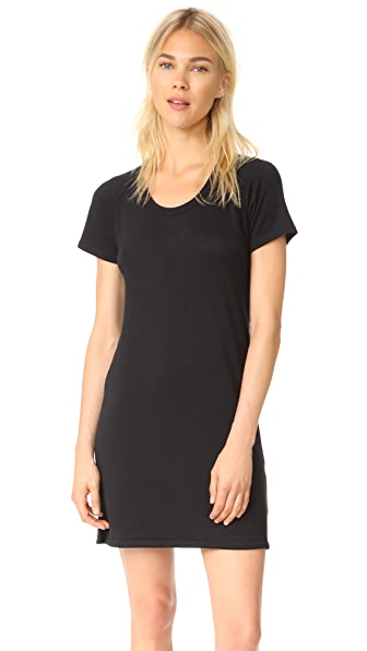 Rag & Bone/JEAN Raglan Mini Dress - Black