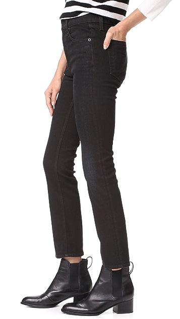 Rag & Bone/JEAN The Hana High Rise Cropped Jeans