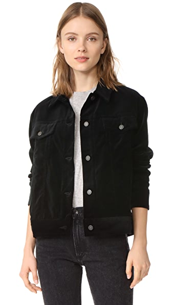 Rag & Bone/JEAN Oversized Velvet Jacket