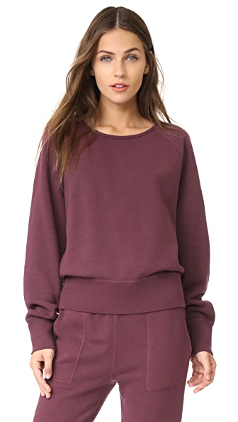 Rag & Bone/JEAN Classic Pullover In Port