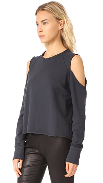 Rag & Bone/JEAN Standard Issue Slash Pullover