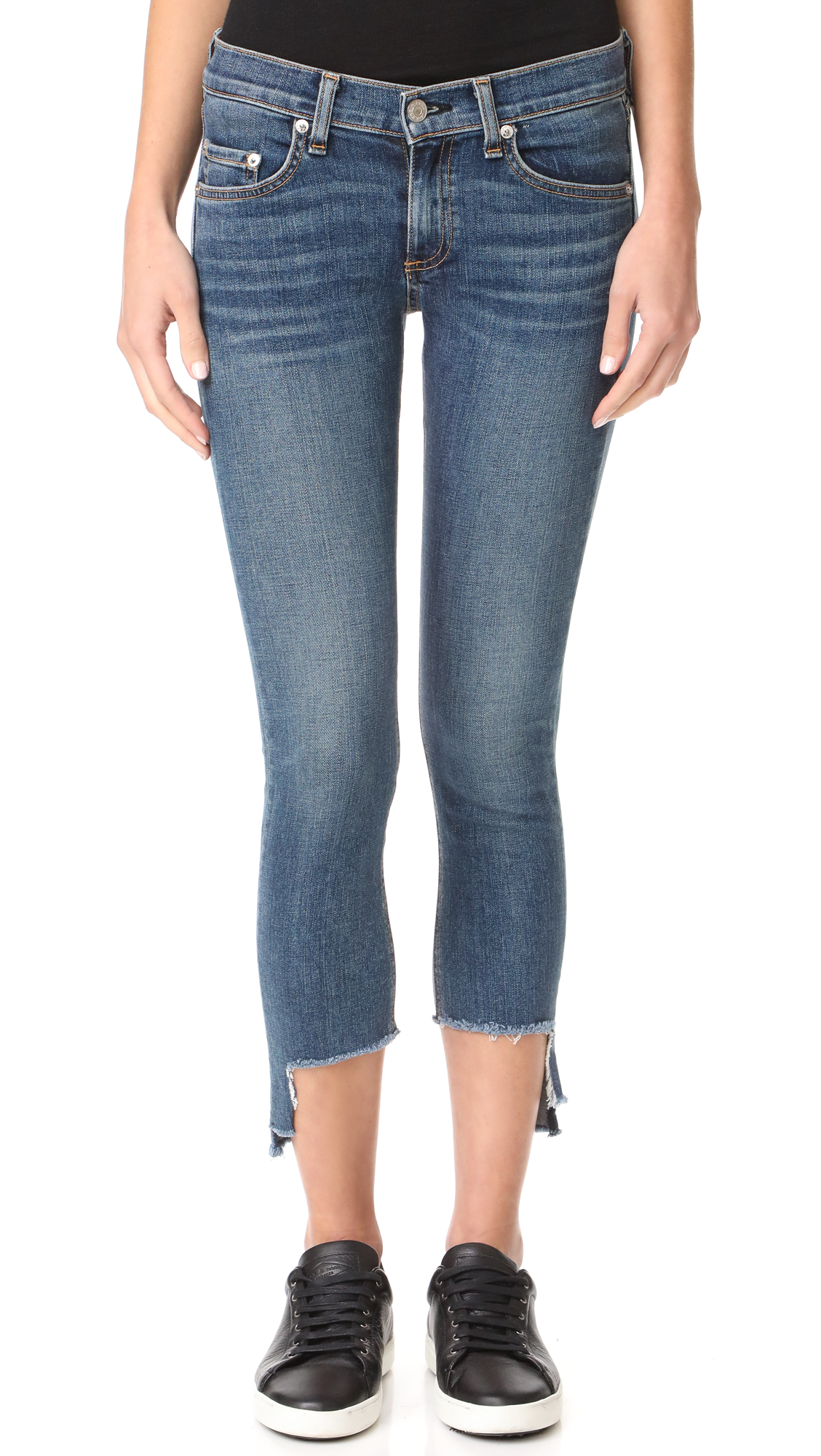 Rag & Bone/JEAN Capri Jeans - Hampton