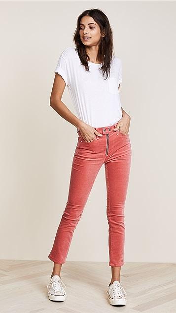 Rag & Bone/JEAN Dojo Velvet Jeans