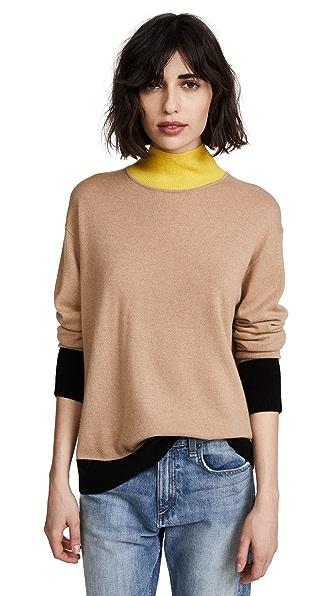 Rag & Bone/JEAN Rhea Sweater In Camel