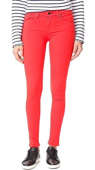 Rag & Bone/JEAN Skinny Jeans - Red
